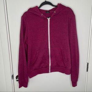 🎁4/20$🎁 mauve pink zip up hoodie
